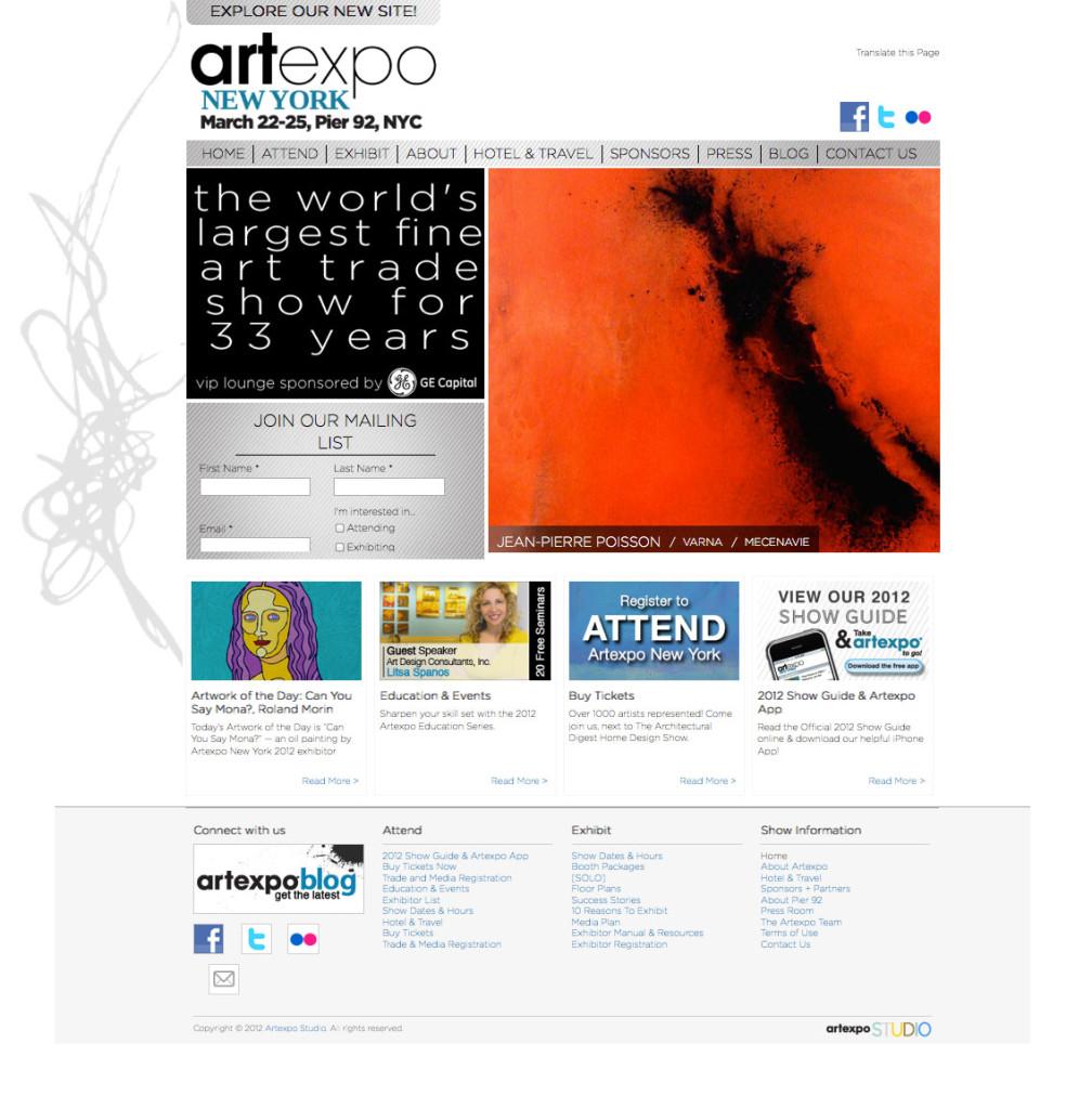 artexpo-2012-home-page
